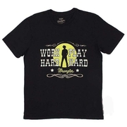Camiseta Wrangler Work Hard Play Hard